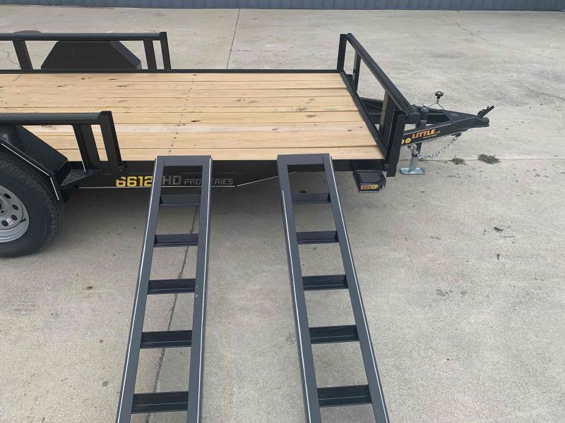 2022 Doolittle Trailer Mfg Pipe Top Utility w/ ATV Side Ramps Utility Trailer