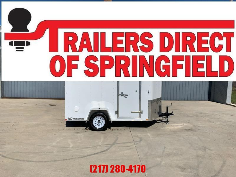 2020 Doolittle 6x10 Cargo Trailer 2990 GVWR Ramp Door
