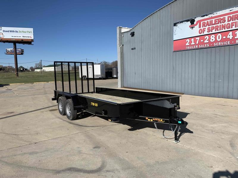 2021 Doolittle 77X16 SS Utility Trailer Dare to Compare!