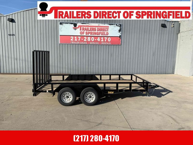 2021 84X14 Pipe Top Utility Trailer Dare to Compare!