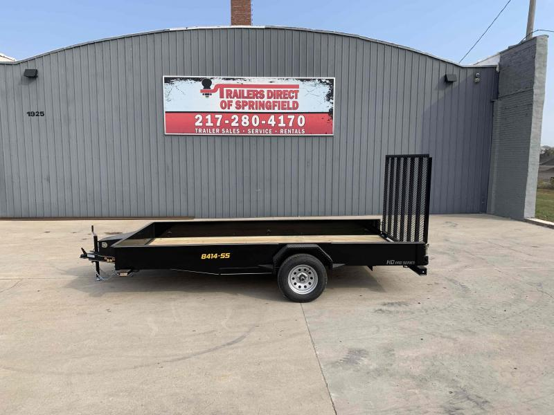 2021 Doolittle 84X14 Steel Side Utility Dare to Compare!