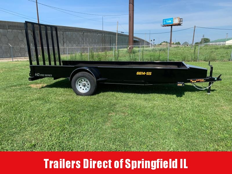 2020 Doolittle Trailer Mfg SS Utility 66x14 S/A