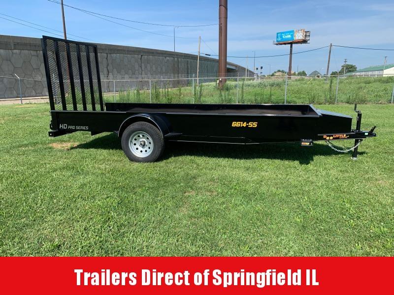 2020 Doolittle Trailer Mfg SS Utility 66x14 S/A