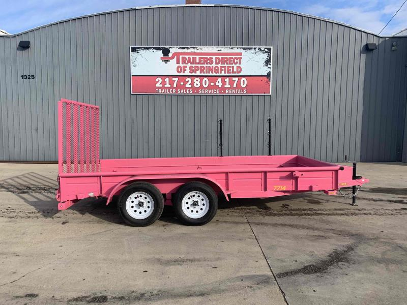2019 Doolittle 77X14 Pink SS Utility Dare to Compare!