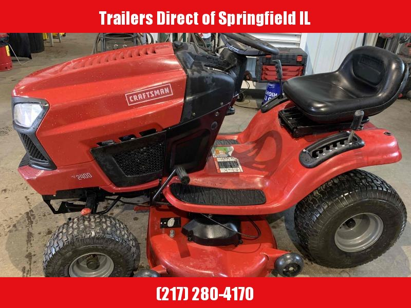 2014 Craftsman Riding Mower Lawn Mowers