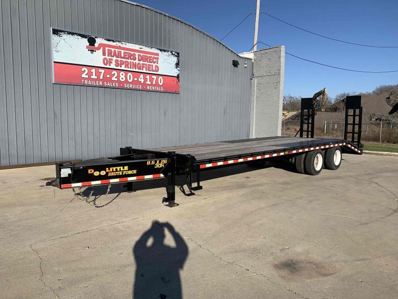 2020 Doolittle Brute Force 102x26 30K GVWR Bumper Pull 6' Dovetail