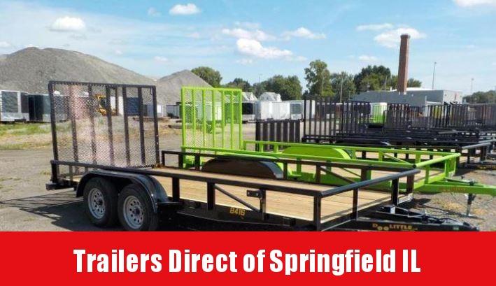 2019 Doolittle Trailer Mfg 84x16 7K Utility Trailer