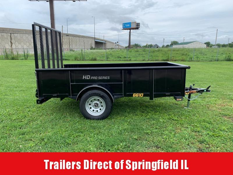 2019 Doolittle Trailer Mfg Utility  66x10 S/A