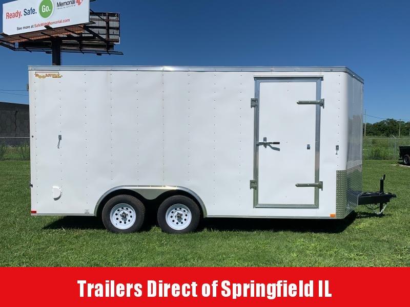 2019 Doolittle Trailer Mfg Bullitt 8.5x16 T/A