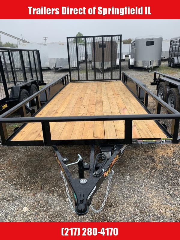 2021 Doolittle Trailer Mfg Utility Trailer