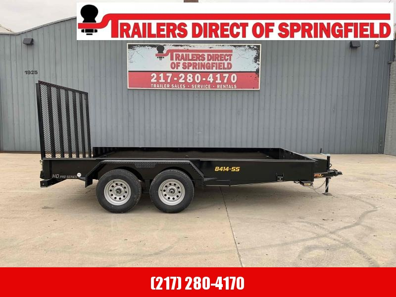 2021 84X14 Steel Side Utility Trailer Dare to Compare!
