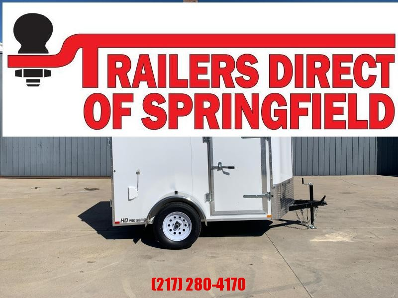2021 Doolittle 5X8 Enclosed Cargo Trailer 2990 GVWR