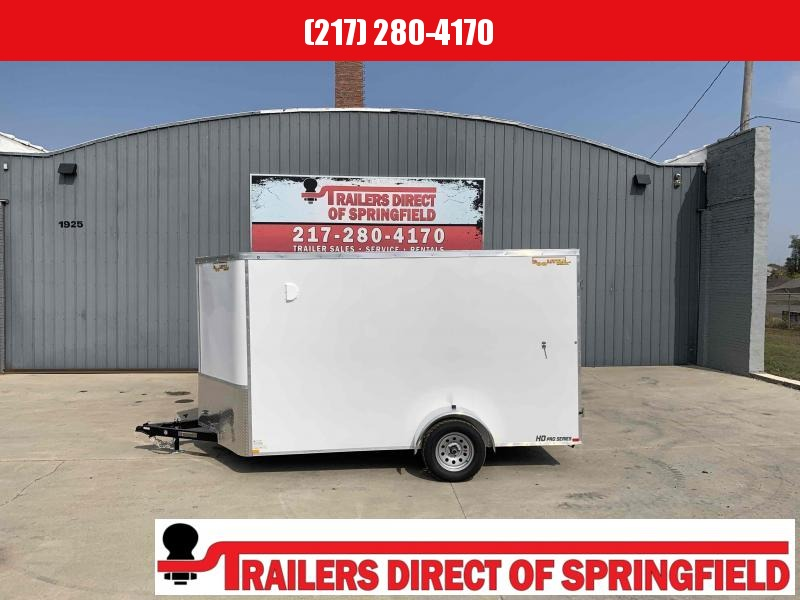 2021 Doolittle 7X12 Cargo Trailer 2990 GVWR Barn Door