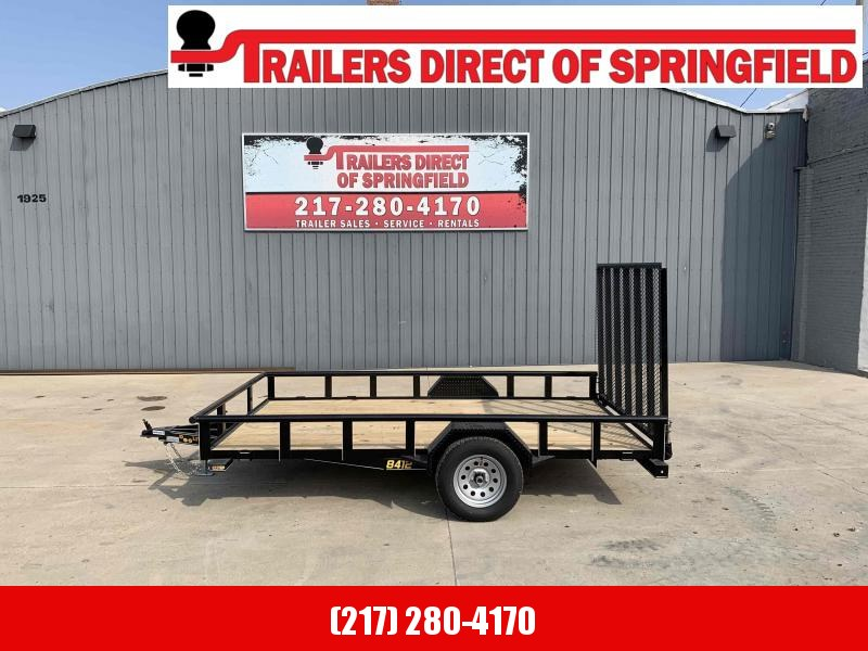 2021 84X12 Pipe Top Utility Trailer Dare to Compare!