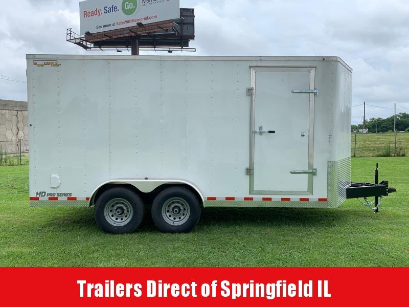 2020 Doolittle Trailer Mfg Cargo 7x16 14K