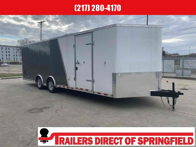 2020 Doolittle 8.5x24 Cargo Trailer Air Conditioning 10K GVWR Deluxe Electrical Pkg Cabinets