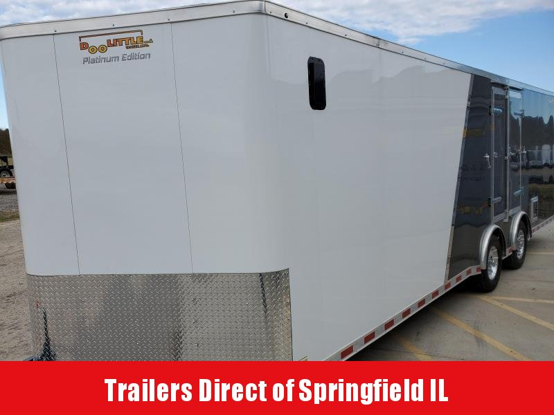 2020 Doolittle Trailer Mfg Bullitt 8.5x24 Tandem Axle 10K Two-Tone Enclosed Cargo Trailer