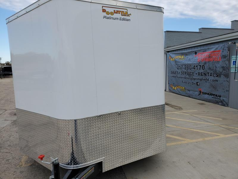 2020 Doolittle Trailer Mfg Bullitt 8.5x24 Tandem Axle 10K Two-Tone Enclosed Cargo Trailer
