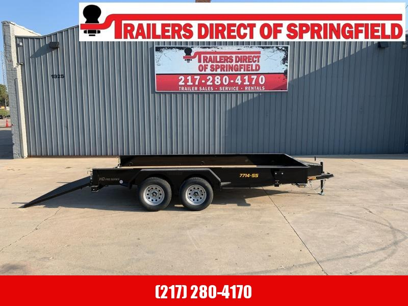 2021 77X14 Steel Side Utility Trailer Dare to Compare!