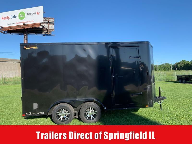 2019 Doolittle Trailer Mfg Bullitt  7x14  T/A
