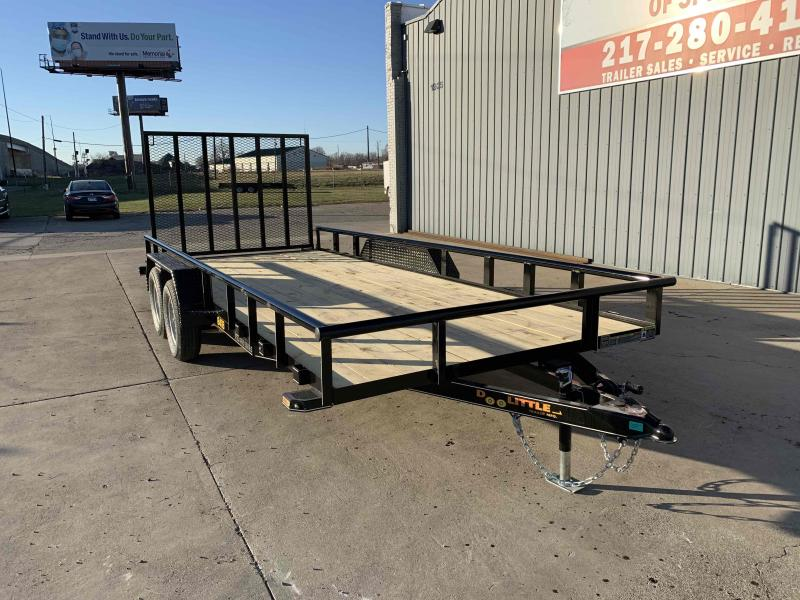 2021 84X18 Pipe Top Utility Trailer Dare to Compare!