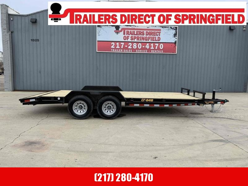 2021 84X18 CF Equipment Trailer Dare to Compare!