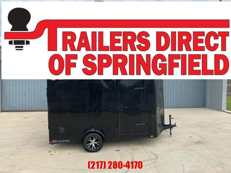 "2020 Doolittle Cargo 7X12 2990 GVWR 6"" Xtra Ht D Rings Ramp Door"