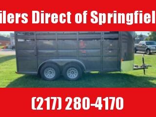 2020 Delta Manufacturing 6X16 Livestock Horse Trailer