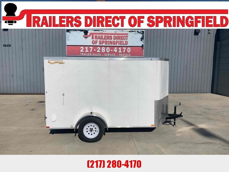 2020 Doolittle 6x10 Cargo Trailer 2990 GVWR Barn Doors