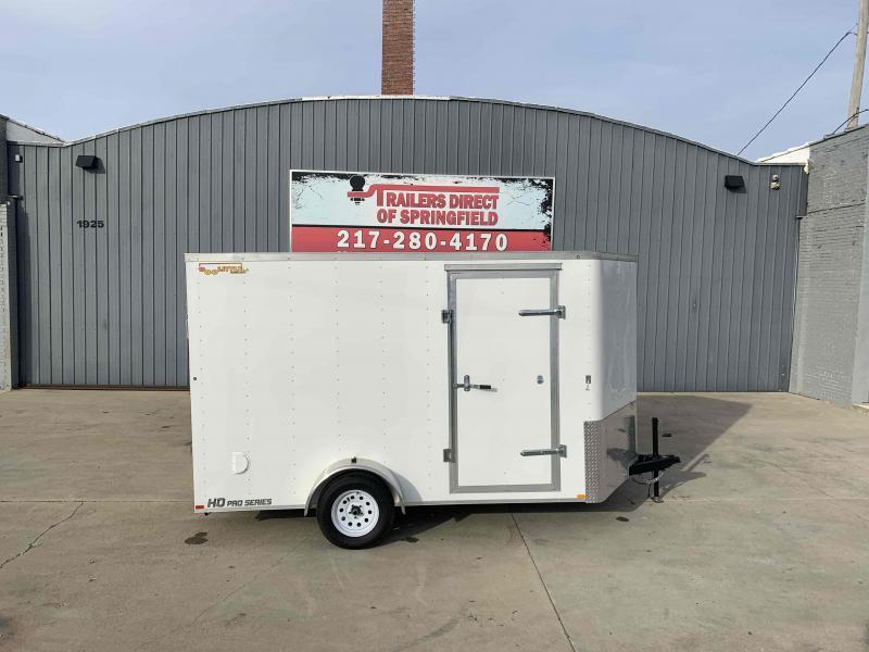 """2020 Doolittle 7x12 Cargo Trailer 2990 GVWR Ramp Door 6"""" Xtra Ht"""