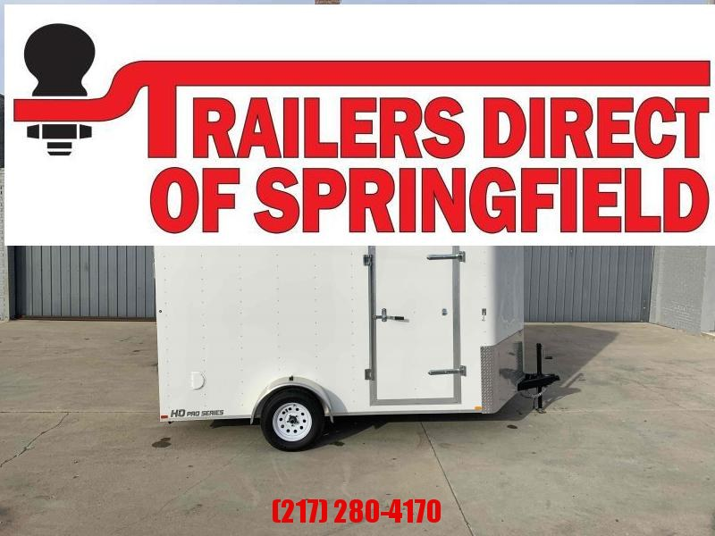 "2020 Doolittle 7x12 Cargo Trailer 2990 GVWR Ramp Door 6"" Xtra Ht"