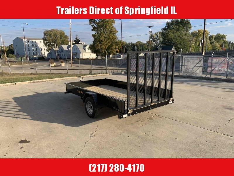 2021 Doolittle Trailer Mfg 77X12 Steel Side Utility Trailer