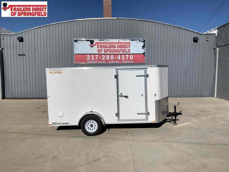 2020 Doolittle 6X12 Cargo Trailer 2990 GVWR Ramp Door w/ Spring Assist