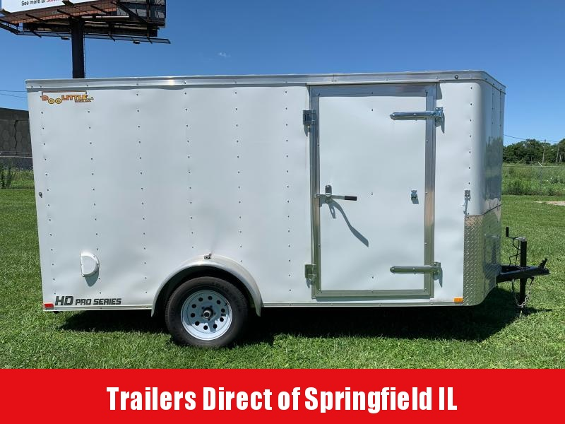 2019 Doolittle Trailer Mfg Bullitt  6x12  S/A