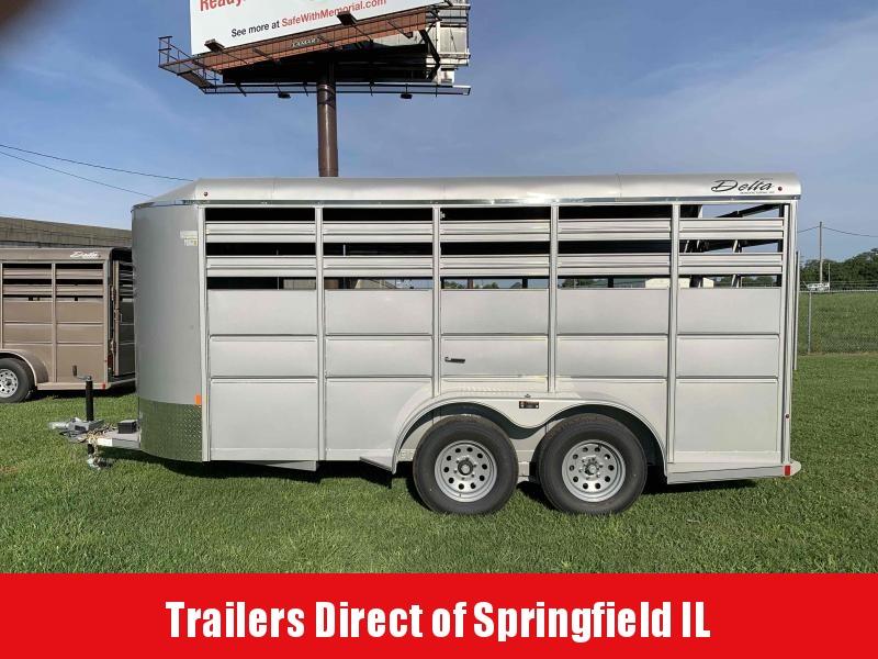 2020 Delta Manufacturing Livestock Horse Trailer