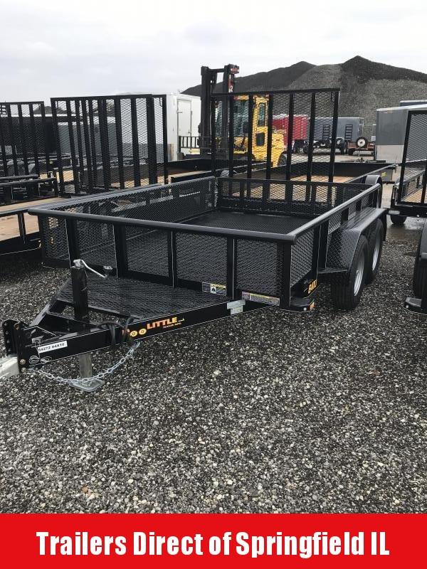 2019 Doolittle Trailer Mfg Utility 84x10 T/A