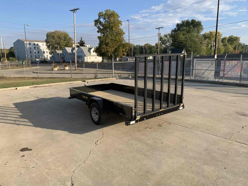2021 Doolittle 77X12 Steel Side Utility Dare To Compare!