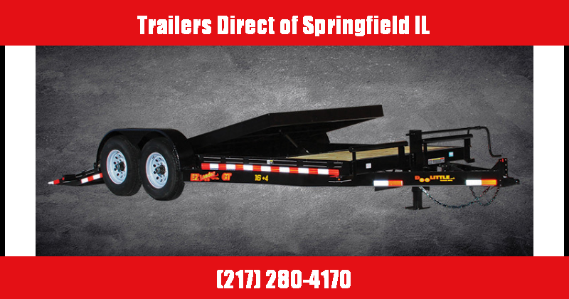 2018 Doolittle Ez Loader Equipment Trailer 82X18 and 82X22 Available for Rent