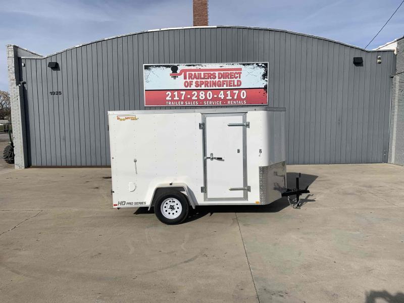 2020 Doolittle 6x10 Cargo 2990 GVWR Barn Doors