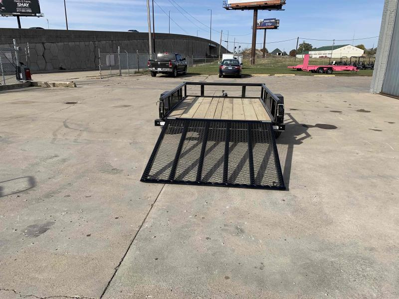 2021 Doolittle Trailer Mfg 66X8 Pipe Top Utility Trailer