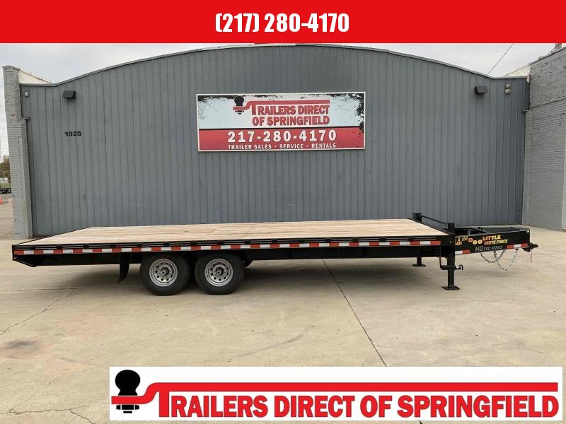 2020 Doolittle 102X22 Deck Over Trailer 14K Bumper Pull