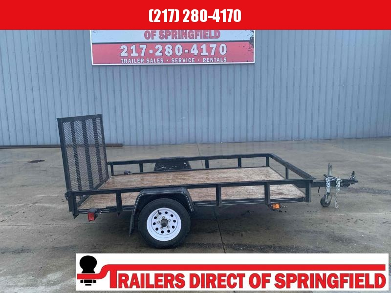 2011 Carry-On 60X8 Utility Trailer Single Axle