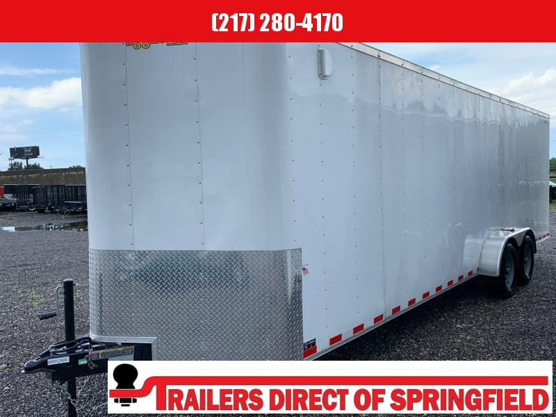 2020 Doolittle 7X24 Cargo Trailer 10K GVWR AC 50 Amp Electrical Panel 110V Wall Outlet