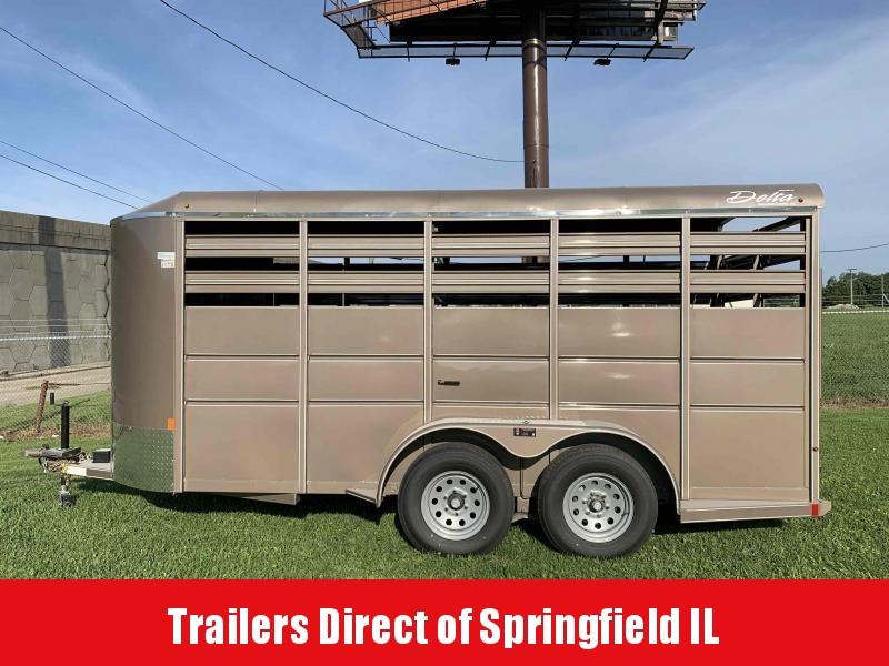2020 Delta Manufacturing Horse Livestock Trailer