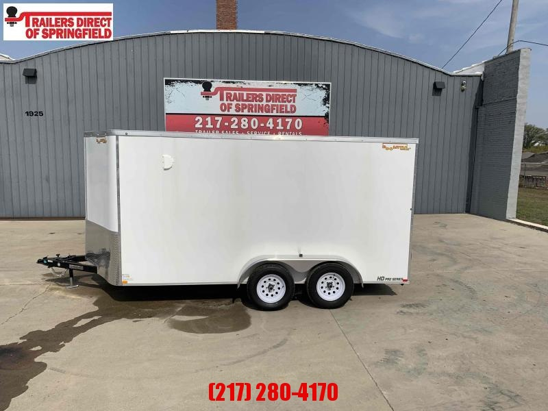 2021 Doolittle 7X14 Cargo Trailer 7K GVWR Ramp Door