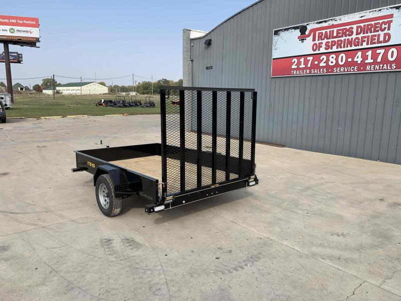 2021 77 x10 Steel Side Utility Dare to Compare!