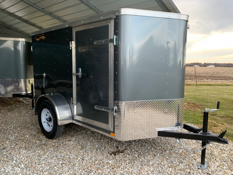 2020 DOOLITTLE 5' X 8' CARGO TRAILER REAR DOUBLE DOORS