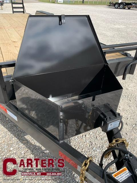 2022 HP Trailers 84 X 20 + 2 DOVE 14K GVWR Equipment Trailer