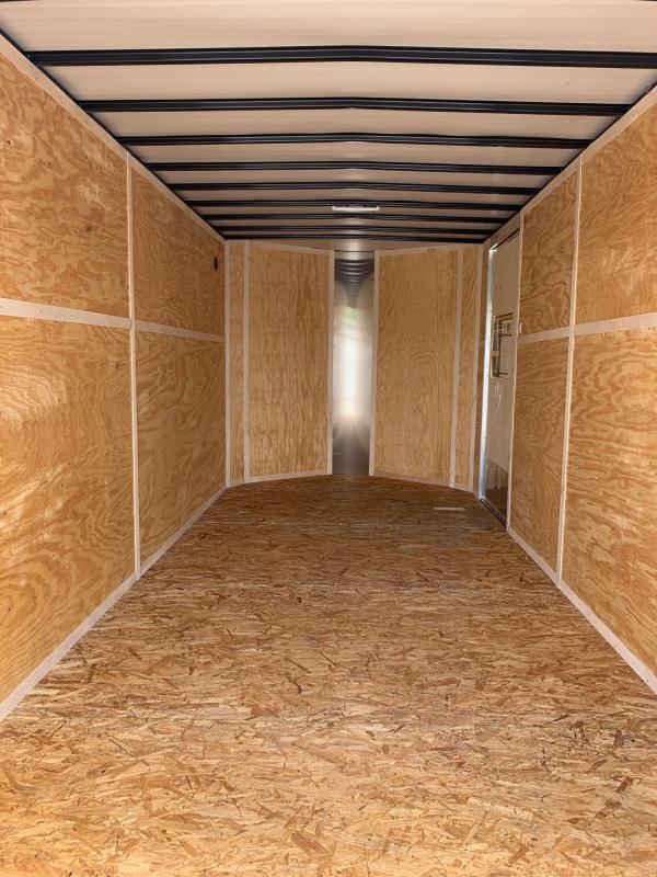 2020 Doolittle Trailer Mfg 7 x 16 Enclosed Cargo Trailer REAR RAMP DOOR