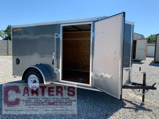 2021 Doolittle Trailer Mfg 5 x 10 Enclosed Cargo Trailer REAR RAMP DOOR